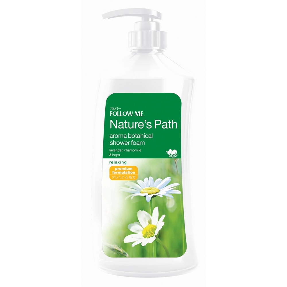 Aroma Botanical Shower Foam