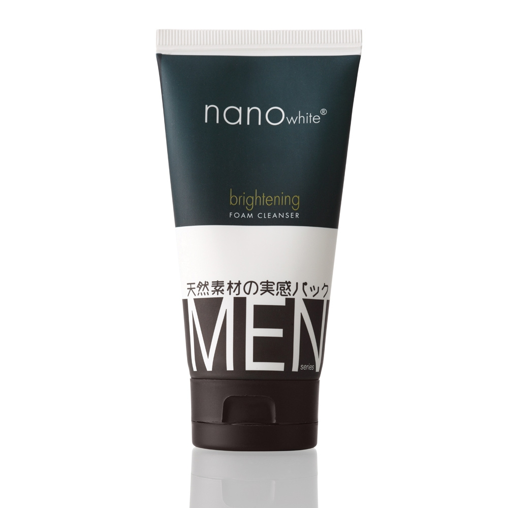 Nanowhite Men Brightening Foam Cleanser