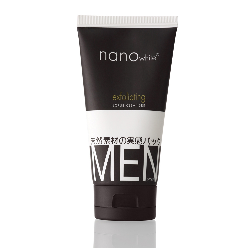 Nanowhite Men Exfoliating Scrub Cleanser