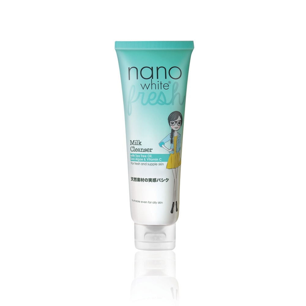 Nanowhite Fresh Milk Cleanser