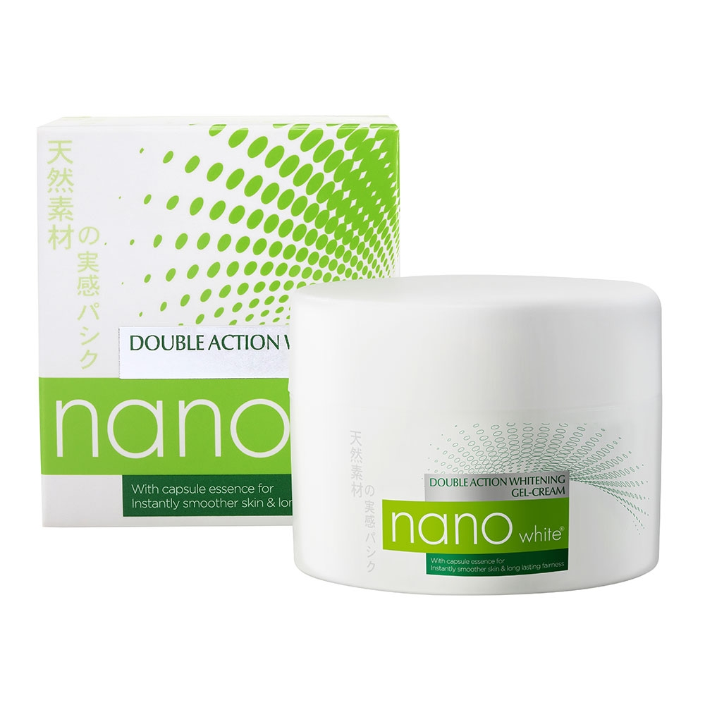 Nanowhite Double Action Whitening Gel-Cream