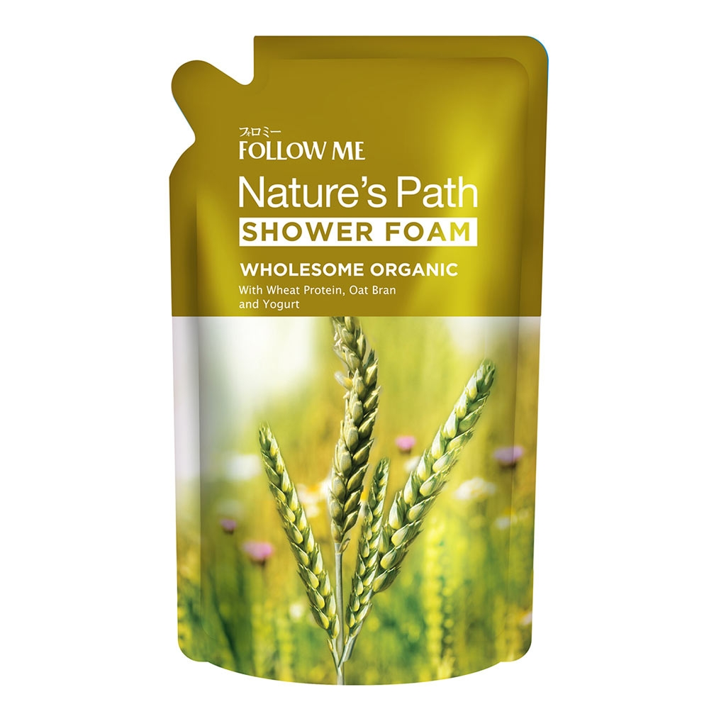 Wholesome Organic Shower Foam