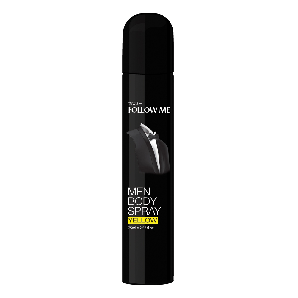 Body Spray Yellow