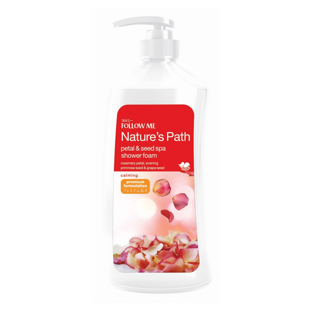 Petal & Seed Spa Shower Foam