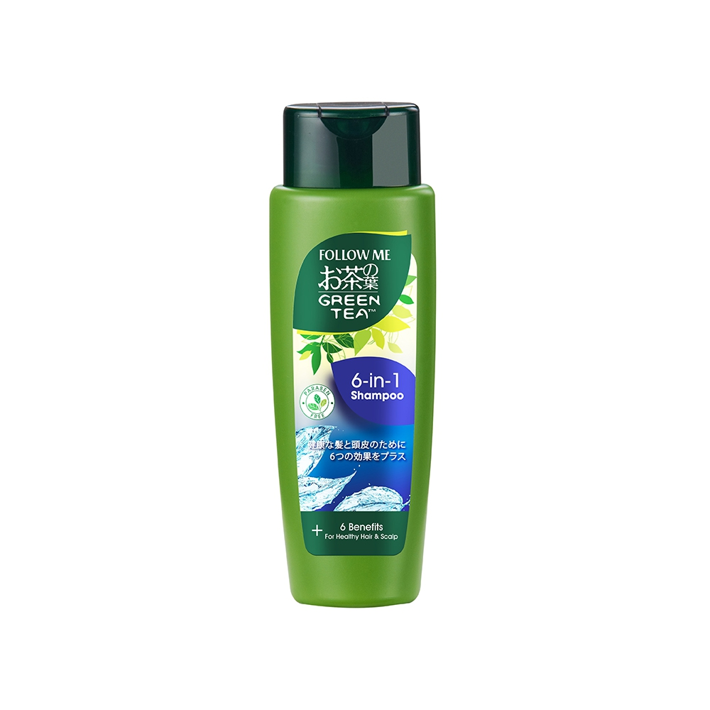Follow Me Green Tea 6-in-1 Shampoo