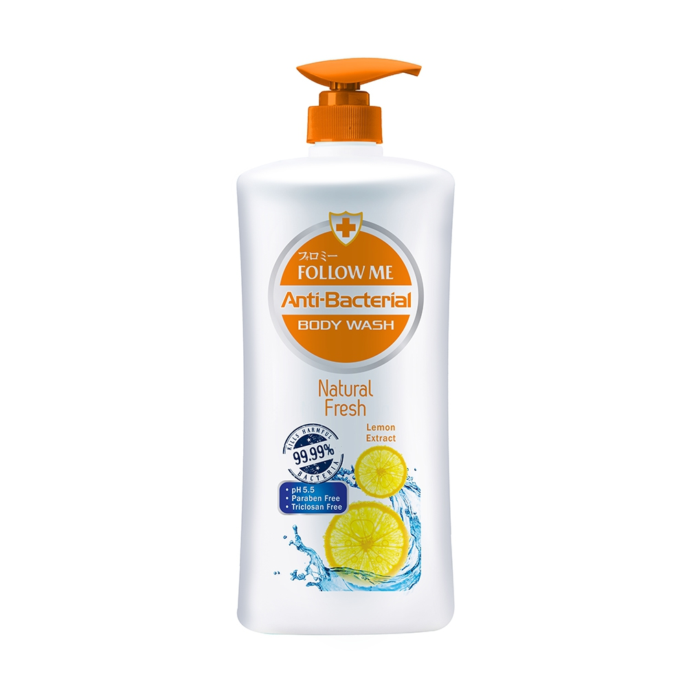 Follow Me Anti-Bacterial Body Wash Natural Fresh