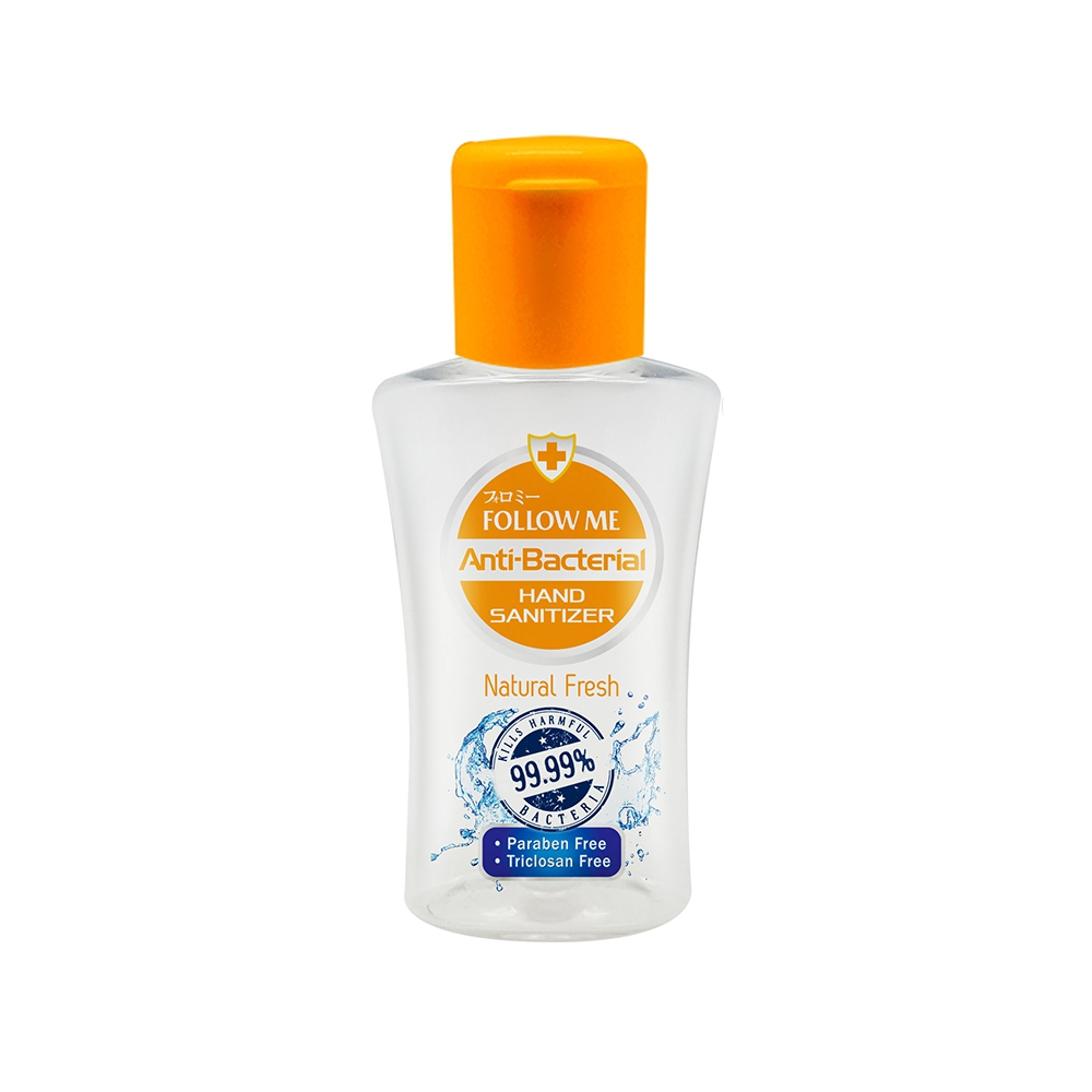 Follow Me Anti-Bacterial Hand Sanitizer Natural Fresh